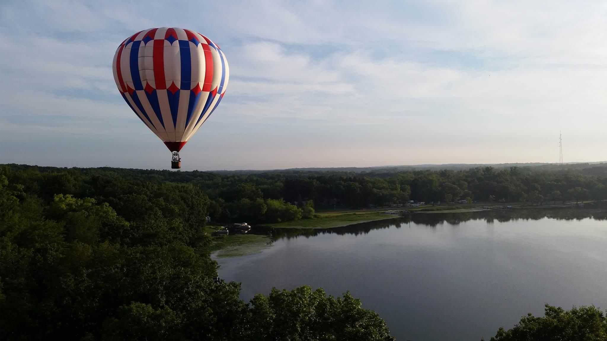 Balloon rides in Detroit